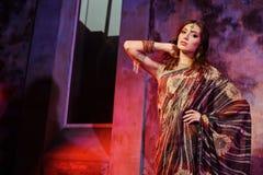 indisk kvinna Arkivbilder