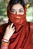 indisk kvinna Royaltyfri Fotografi