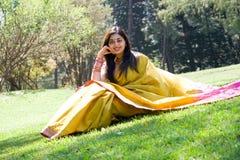 indisk kvinna Arkivfoton