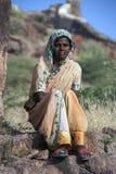 Indisk kvinna - Jodhpur - Indien Royaltyfri Bild
