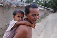 indisk livstidsby Arkivbild