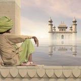 indisk man Fotografering för Bildbyråer