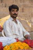 Indisk man i Rajasthan Royaltyfri Bild