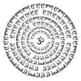 Indisk Mandala Arkivfoto