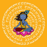 Indisk Mandala Royaltyfri Bild