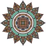 Indisk Mandala Arkivbild
