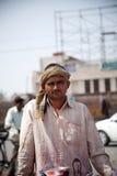 indisk manshopcart arkivfoton