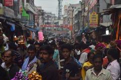 indisk marknad arkivfoton
