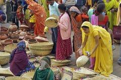 indisk marknad royaltyfri fotografi