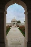 Indisk minnesmärke för armé WW1 på Neuve-Chapelle, Frankrike Royaltyfri Foto