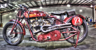 Indisk motorcykel för tappning 1923 Royaltyfri Foto