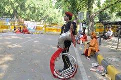Indisk musikmusikband Arkivfoto