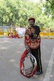 Indisk musikmusikband Royaltyfria Foton