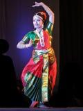 indisk nrityotsavrabindra för dans royaltyfri bild