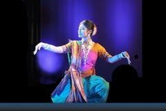 indisk nrityotsavrabindra för dans arkivbilder