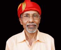 indisk pensionär Royaltyfria Foton