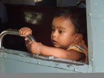 Indisk pojke Arkivbild
