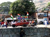 indisk politik Fotografering för Bildbyråer