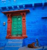 Indisk port Fotografering för Bildbyråer