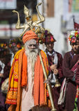 Indisk präst Fotografering för Bildbyråer