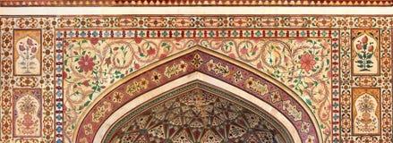 Indisk prydnad - Jaipur Indien royaltyfri foto