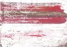 Indisk röd suddig bakgrund för washteckning Arkivfoto