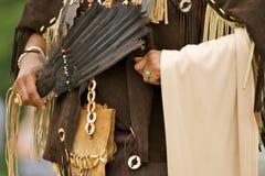 indisk regalier Arkivfoto