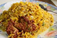 indisk rice royaltyfri illustrationer
