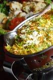 indisk rice Royaltyfri Foto