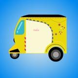 indisk rickshaw Royaltyfri Foto