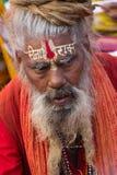 indisk sadhu Arkivfoton