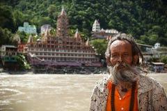 Indisk sadhu Arkivbilder
