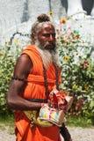 Indisk sadhu fotografering för bildbyråer