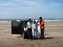 indisk semester för familj Arkivfoton