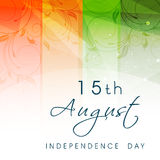 Indisk självständighetsdagen Arkivfoto