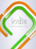 Indisk självständighetsdagen. Arkivbild