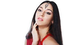 Indisk skönhet arkivfoton