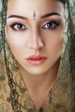 Indisk skönhetframsida Arkivbilder