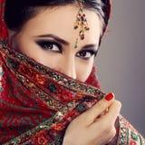 Indisk skönhet Arkivbilder