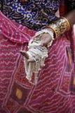 indisk smyckenkvinna Royaltyfri Bild