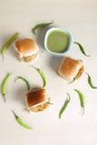 Indisk special traditionell stekt matvada pav Royaltyfria Foton