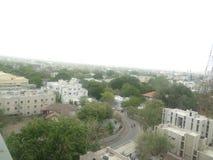Indisk stad Royaltyfria Bilder