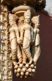 Indisk tempelillustration arkivfoto