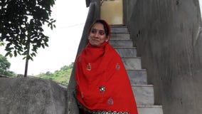 Indisk tirnga relly i väg för rajasthan stadsfjärd Arkivbilder
