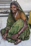 Indisk traditionell kvinna Arkivfoto