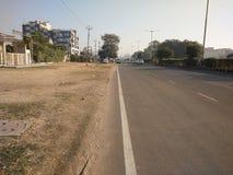 Indisk väg Arkivfoto