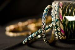 indiska bangles royaltyfria foton