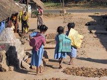 indiska barn Royaltyfria Bilder