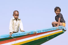 indiska barn Royaltyfria Foton
