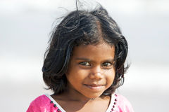 indiska barn Arkivfoton